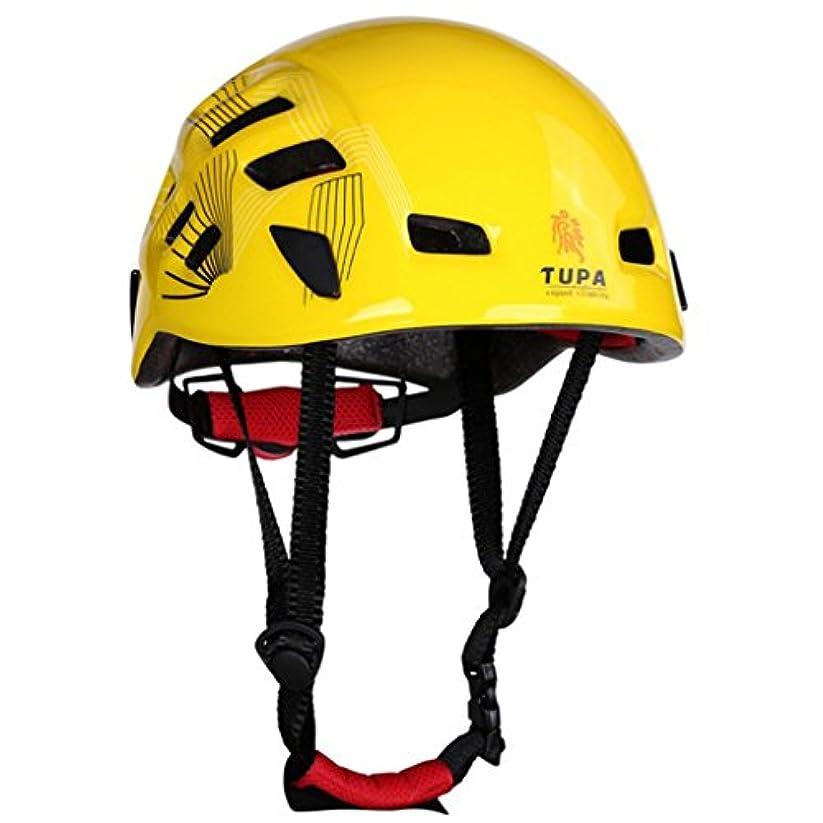 代表触手絡み合いPerfeclan クライミング 防災帽 アウトドア ヘルメット ギア 保護帽子 通気孔 気密性