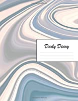 Daily Diary: Blank 2020 Journal Entry Writing Paper for Each Day of the Year   Stylish Stone Marble Design Pattern   January 20 - December 20   366 Dated Pages   A Notebook to Reflect, Write, Document & Diarise Your Life, Set Goals & Get Things Done