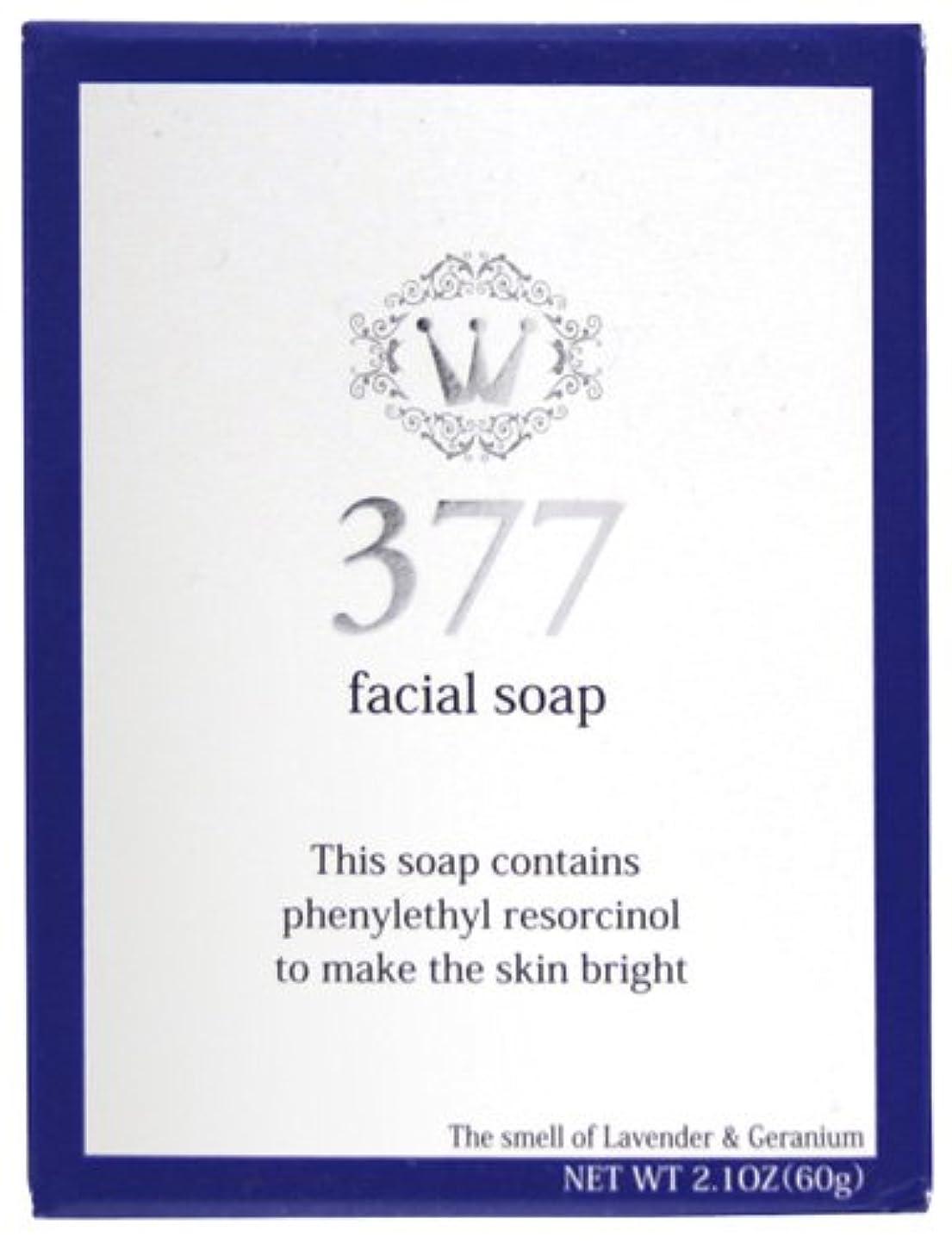 お風呂つぼみ複雑な進製作所 377フェイシャルソープ 60g