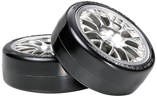 HOP-UP OPTIONS OP.1021 メッキメッシュホイール スーパードリフトタイヤ
