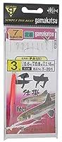 がまかつ(Gamakatsu) チカ仕掛 チカ 白 7本 3-0.6 T201
