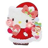 サンリオ クリスマスカード 洋風 ハローキティ ライト&メロディ ポップアップ ふかふか S7340