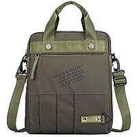 Volwco Men Shoulder Bag, 2019 New Trend Messenger Crossbody Sling Bag, Classic Business Travel Handbag Suitable Fits Magazines Phone Ipad (13x11x2.8 Inch)
