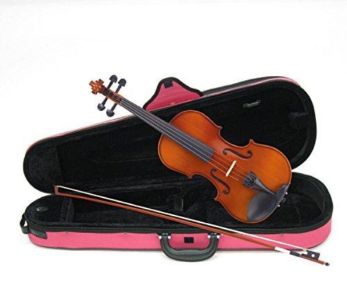カルロジョルダーノ  バイオリンアウトフィット VS-1C 4/4 ピンクケース