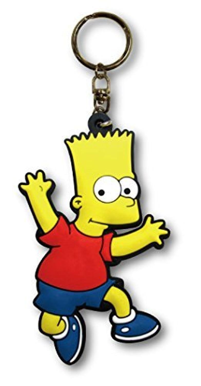 ラバーキーチェーン 【Bart】 バート キャラクター ロゴ 3D キーホルダー 並行輸入 アメリカン雑貨