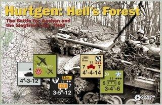 DG: Hurtgen, Hell's Forest, the Battle for Aachen & the Siegfried Line 1944, Board Game