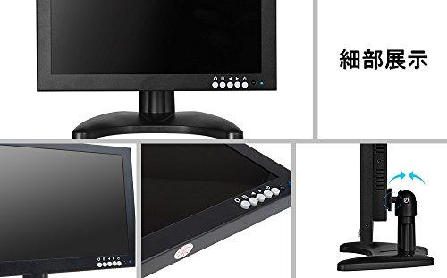 『10インチ液晶 HDMI USB モニター PC 小型 サブ ディスプレイ1280*800 IPS全視野高画質 HDMI USB VGA BNC AV 入力対応 モバイル モニター (101IPS)』の6枚目の画像