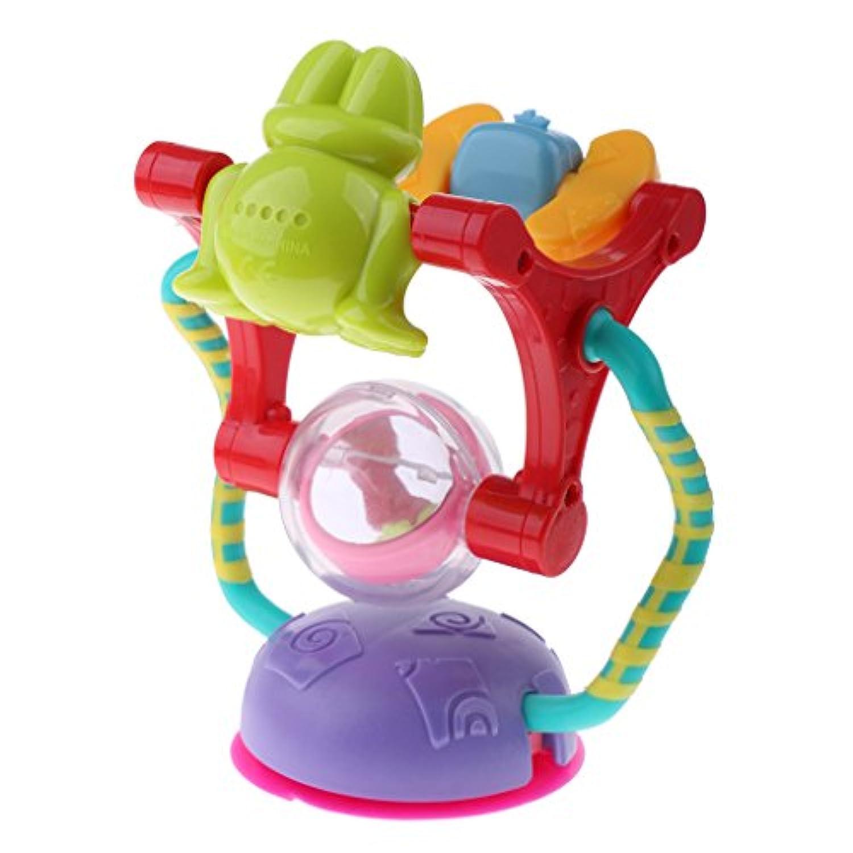 Lovoski カラフル プラスチック製 ベビー キッズ 動物 観覧車 風車 おもちゃ 開発 教育おもちゃ