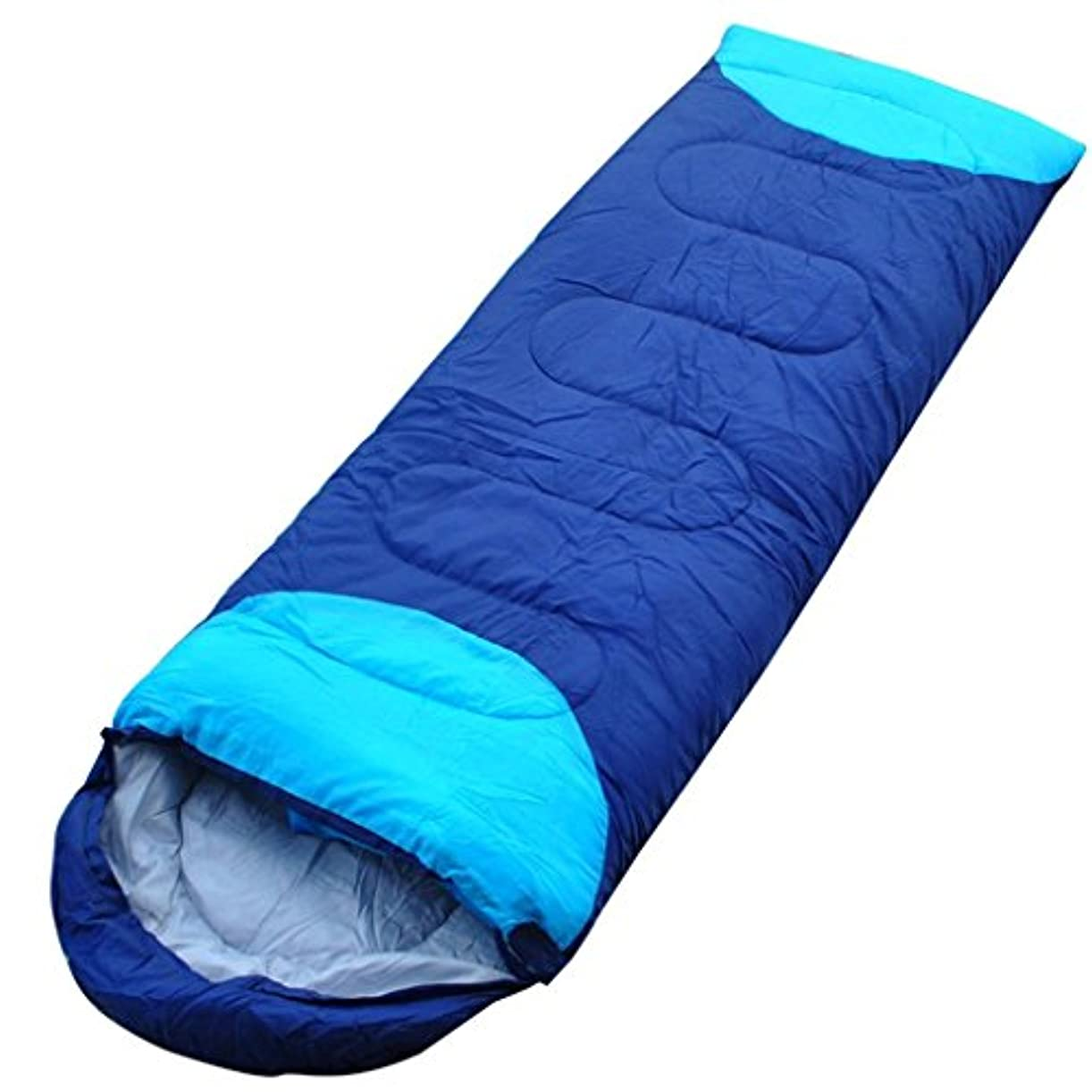 平らにする遊具恥ずかしさWangjie 寝袋 キャンプ どんぐり スプライス ダブルインドア 大人用 温かい 防水 軽量 寝袋