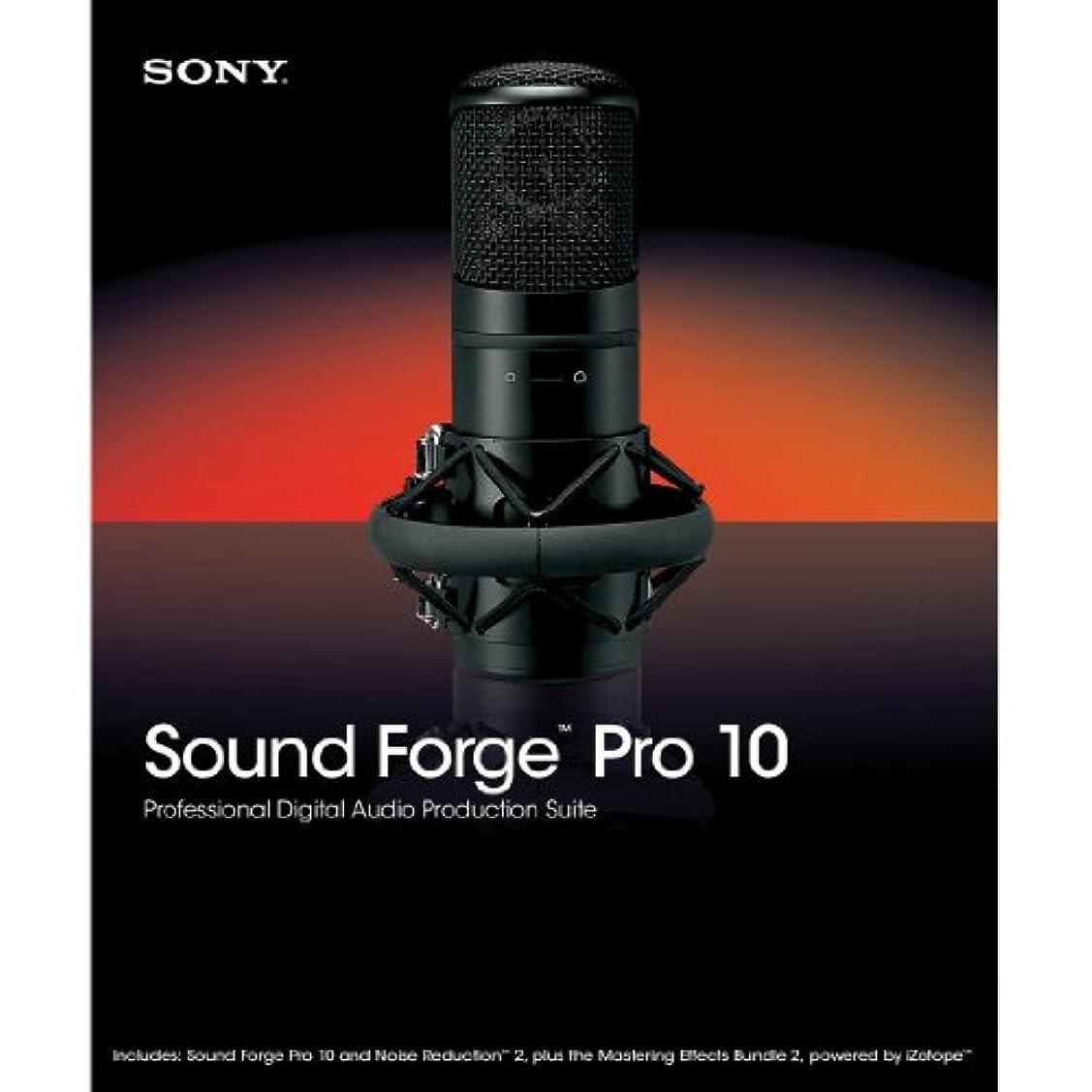 完全にフェデレーションずっとSONY SOUND FORGE PRO 10 日本語対応 並行輸入品