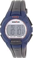 Timex TW5K94100 Ironman Men's Grey Silicone Bracelet With Grey Digital Dial