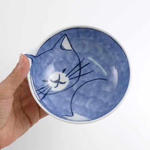 波佐見焼 neco鉢 4Pセット 猫の小鉢