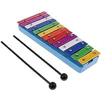 Prettyia 13キー 木琴 打楽器 子供 音楽性を向上 楽器おもちゃ 全2選択 - スタイル1