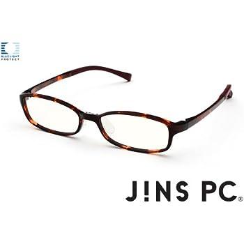 【JINS PC スクエア クリアレンズ】PC(ディスプレイ)専用メガネ (度なし)WEB限定カラー