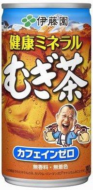健康ミネラルむぎ茶 缶 190g ×30缶
