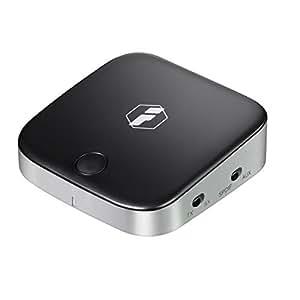 Inateck 2-in-1 Bluetooth トランスミッター&レシーバー 受信機+送信機 光デジタルTOSLINK、3.5mmAUXケーブル、RCAケーブル付き aptX ローレイテンシー対応