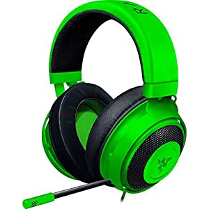 Razer Kraken Green アナログ接続 ゲーミングヘッドセット PS4 PC Switch スマートフォン 冷却ジェルパッド 【日本正規代理店保証品】 RZ04-02830200-R3M