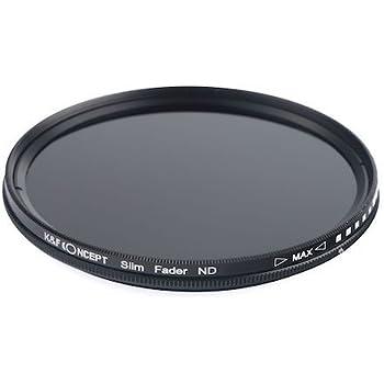 K&F Concept 可変式NDフィルター 58mm NDX 減光範囲ND2~ND400 薄枠設計 KF-NDX58