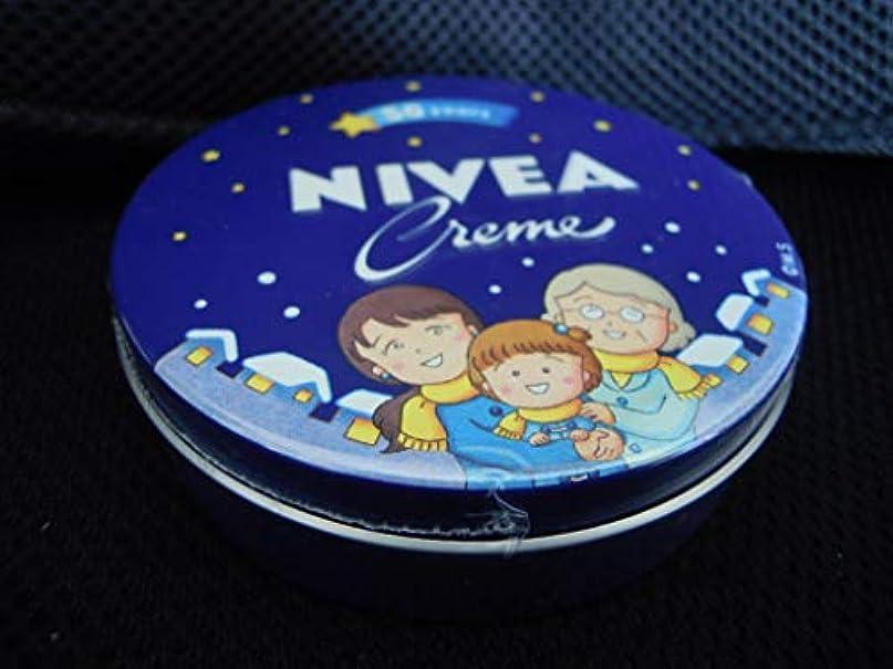 パール苗つば限定 ニベア ちびまる子ちゃん さくらももこ ハンドクリーム 169g 50周年 大缶 デザイン缶 スキンケア 花王