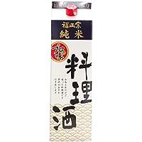 福正宗 純米 料理酒 紙パック [ 日本酒 石川県 1800mL ]