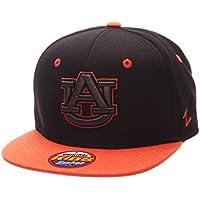 (Auburn Tigers, Adjustable Size, Black/Team Color) - Youth Z11 Phantom Snapback Hat