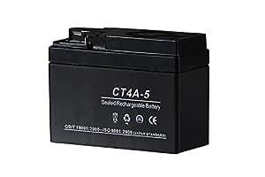 液入バッテリー CT4A-5 (YTR4A-BS/GTR4A-5/FTR4A-BS互換)