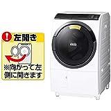 日立 10.0kg ドラム式洗濯乾燥機【左開き】ホワイトHITACHI BD-SG100EL-W