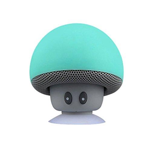 [해외]Myoffice 스피커~ 만화 버섯 머리의 Bluetooth 사운드 Bluetooth 무선 미니 스피커/Myoffice Speaker~ Cartoon Mushroom Head Bluetooth Sound Wireless Bluetooth Mini Speaker