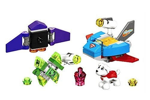 LEGO DC Krypto Saves the Day Exclusive & Super Hero Girls Batgirl with Bat Pack Super Hero 6