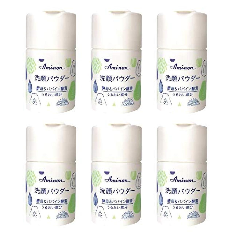 ランタンパリティ平行アミノン パパイン酵素配合 洗顔パウダー 50g (6本セット)