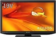 シャープ 19V型 液晶テレビ AQUOS ハイビジョン 外付けHDD裏番組録画対応 2021年モデル 2T-C19DE-B