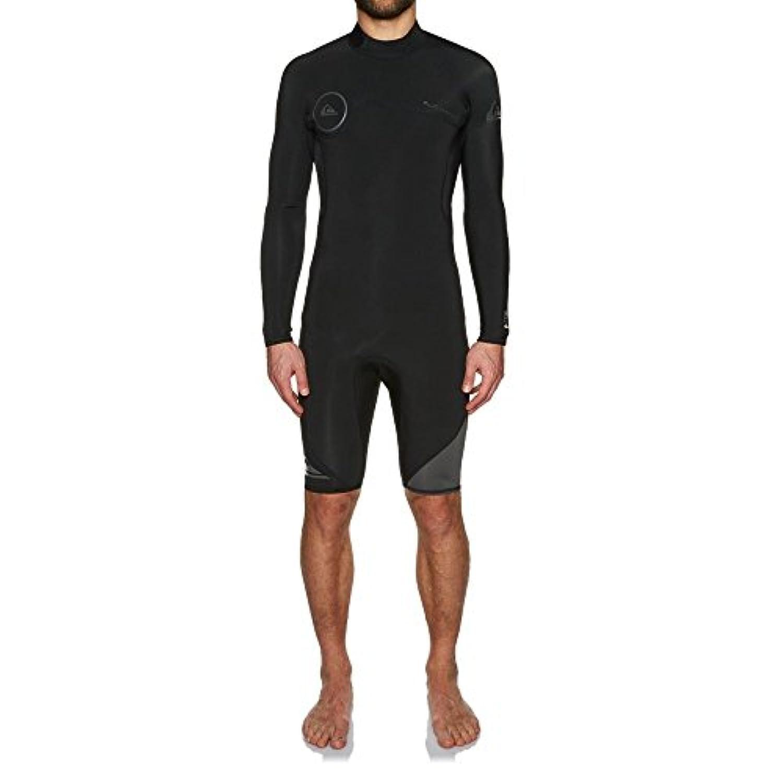 (クイックシルバー) Quiksilver メンズ 水着?ビーチウェア ウェットスーツ 2mm 2018 Back Zip Long Sleeve Shorty Wetsuit [並行輸入品]