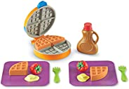 Learning Resources New Sprouts Waffle Time, Pretend Play Food Set