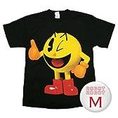 ナムコ パックマン 3DサムアップTee/Pacman Thumbs Up T-Shirt ゲームTシャツ M【並行輸入】
