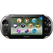 PlayStation Vita Wi-Fiモデル カーキ/ブラック [PCH-2000ZA16] (PS Vita)
