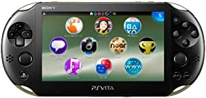 PlayStation Vita Wi-Fiモデル カーキ/ブラック (PCH-2000ZA16)【メーカー生産終了】