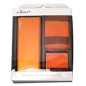 ELAICE (エレス) e-Kairo+ イーカイロプラス 充電式カイロ+バッテリーチャージャー オレンジ