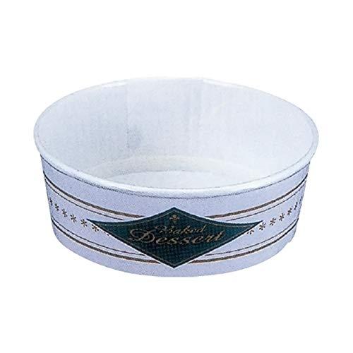業務用 プリーツカップ 55ベイクドデザート 紺(100枚入)[ケーキ型/焼き型/チーズケーキ/ベーキングカップ]
