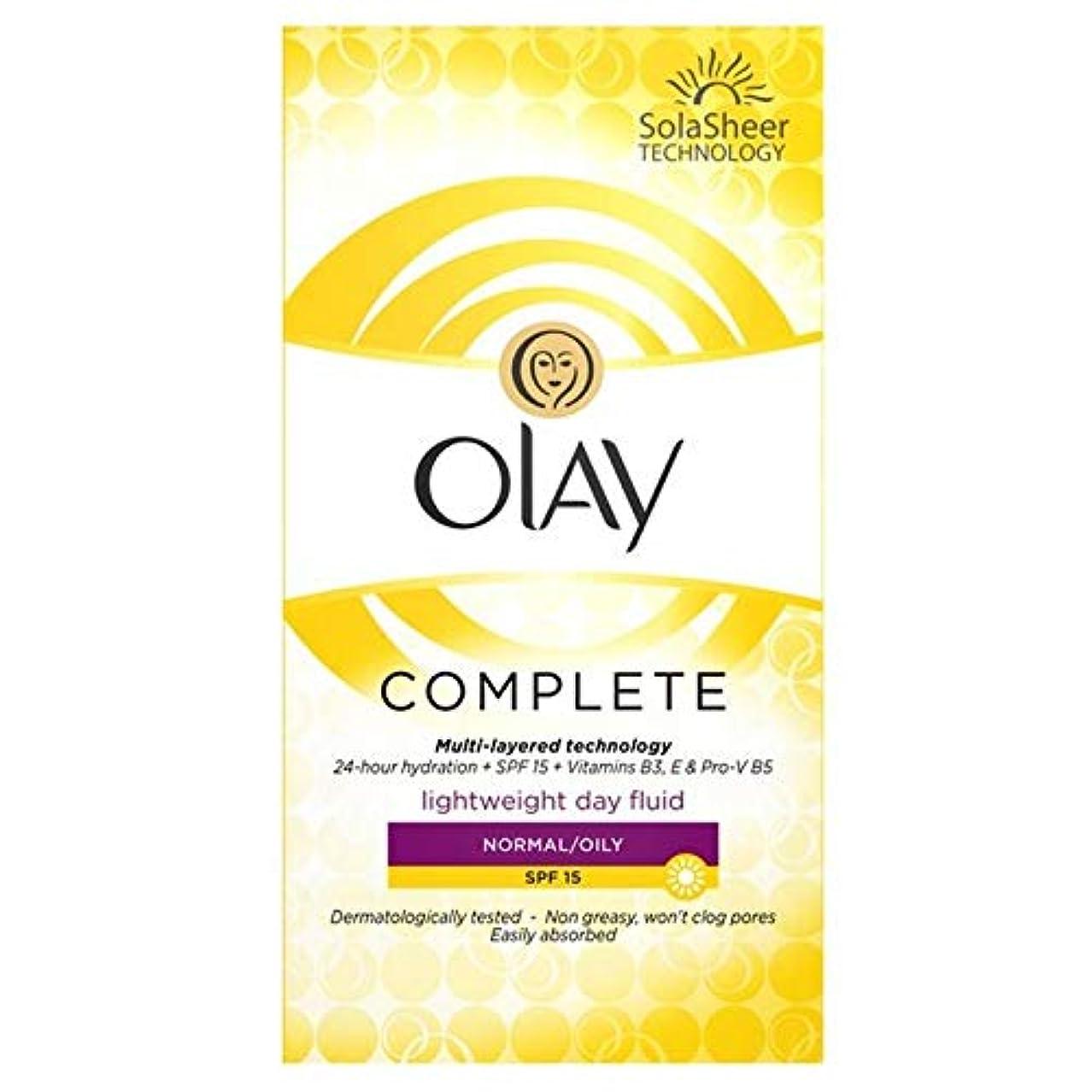 乳剤葉内訳[Olay ] オーレイの必需品、完全なケア保湿毎日のUv流体Spf 15 100ミリリットル - Olay Essentials Complete Care Moisturiser Daily UV Fluid SPF...
