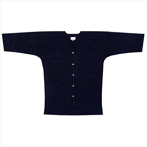 【お祭り用品・衣装】 黒鯉口シャツ A1319 小・S-3L