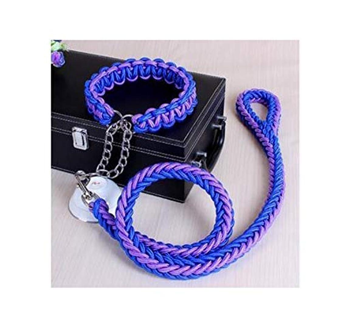 スプーン接続詞抑制EISOON 犬用ハーネス 牽引ロープ 2点セット 胴輪 引っ張り防止 首輪 ペット用品 トラクションロープ 散歩 訓練 小型犬 中型犬 大型犬 軽量 通気性