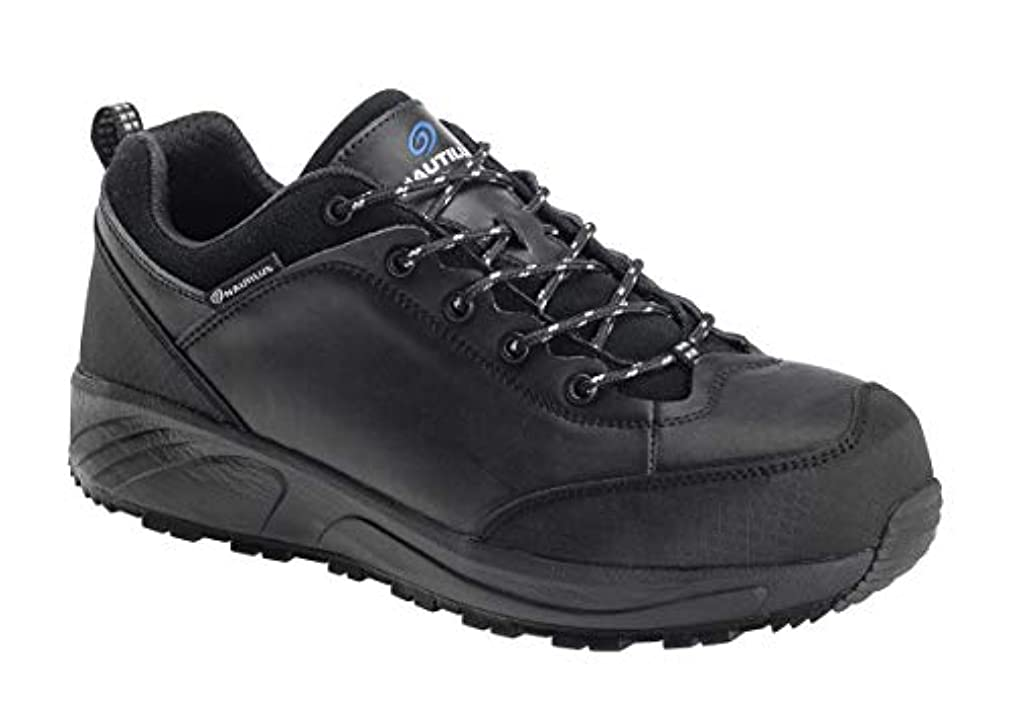ナラーバーぺディカブ通貨[FOOTWEAR SPECIAL] Nautilus 2515 Surge Oxford Slip Resistant EH - Composite Toe (11 M) Black