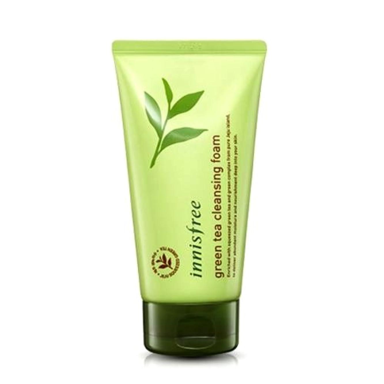 保証配管工胃(6 Pack) INNISFREE Green Tea Cleansing Foam (並行輸入品)