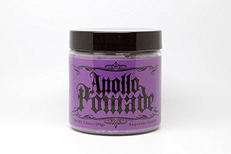 現代昇進鮮やかなポマード メンズ Apollo Pamade (アポロポマード 油性 ) 3.5oz(99g)