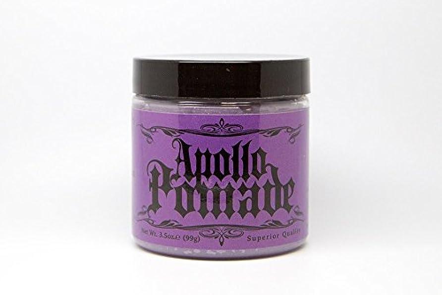 デコードする法律により気分が良いポマード メンズ Apollo Pamade (アポロポマード 油性 ) 3.5oz(99g)