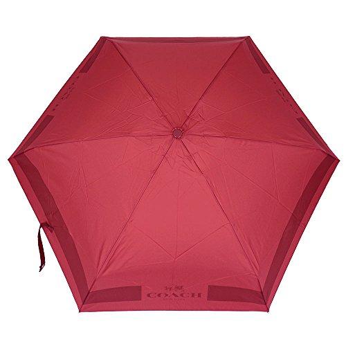 [コーチ] COACH 小物 (折りたたみ傘) F63690 クラシックレッド SVE8B 折りたたみ傘 レディース [アウトレット品] [並行輸入品]
