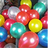 FidgetGear 1.2g 100p 10 inch Latex Balloon Helium Balloon Party Birthday Wedding Decoration mixed