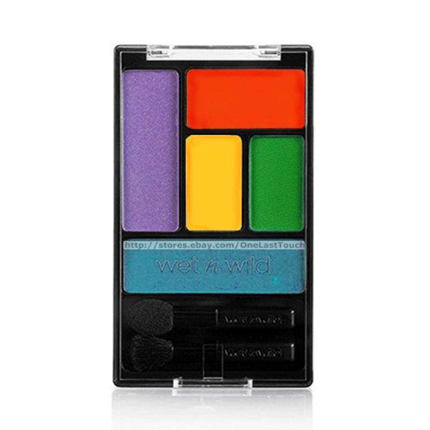 ルアー見習いダンプWET N WILD Color Icon Eyeshadow Palette 5 Pan - Art in the Streets (並行輸入品)