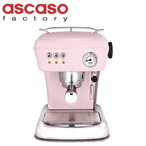 ascaso(アスカソ) DREAM サーモブロックタイプ 家庭用エスプレッソマシン 110002 ベイビーピンク 1048314