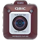 ELMO(エルモ) QBiC(キュービック)Full HDフィールドムービー D1 [F2.2 水平画角185度] ワインレッド 2491-2